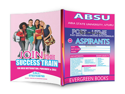 absu post-utme past questions and answers