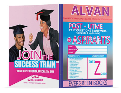 alvan post-utme past questions and answers