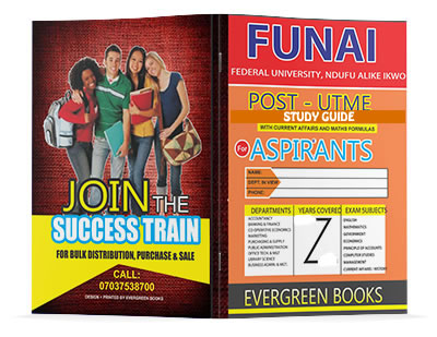 funai post-utme past questions and answers