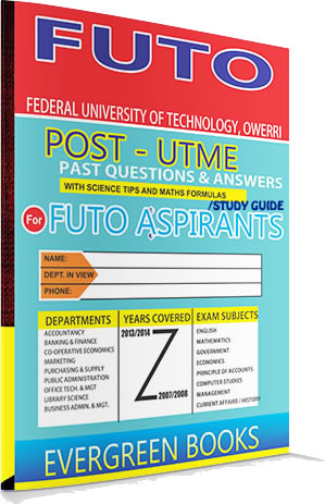 futo post-utme past questions and answers