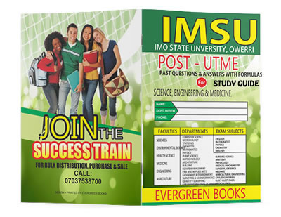 imsu post-utme past questions and answers