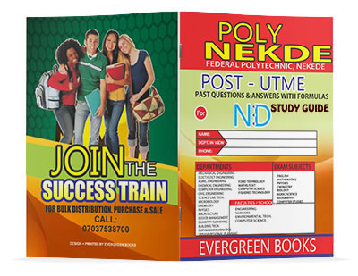poly nekede post-utme past questions and answers