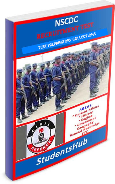 Download 2020 NSCDC Recruitment Test Past Questions And Answers