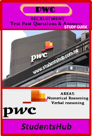 PwC Aptitude Test Past Questions And Answers