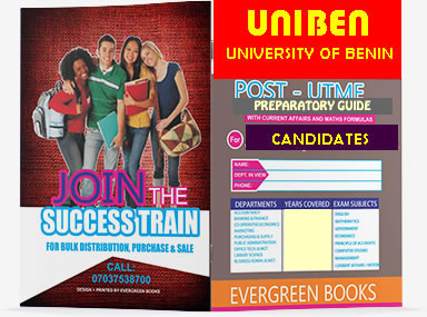 UNIBEN POST-UTME Test Study Questions & Answers For Sciences