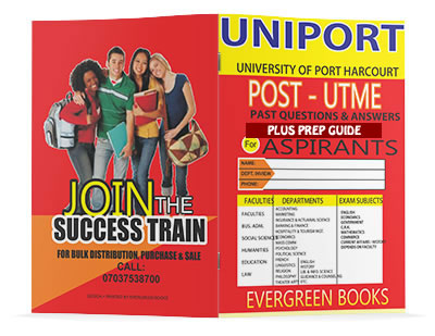 uniport post-utme past questions and answers