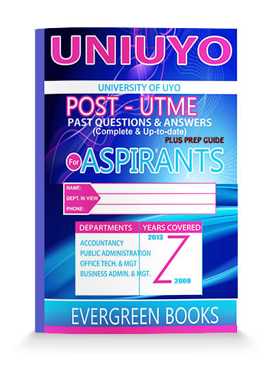 uniuyo post-utme past questions and answers